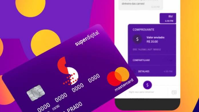 Cartão de crédito Super Digital