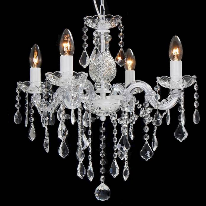 Lustre Branco: Ideias Elegantes Para Iluminar sua Casa