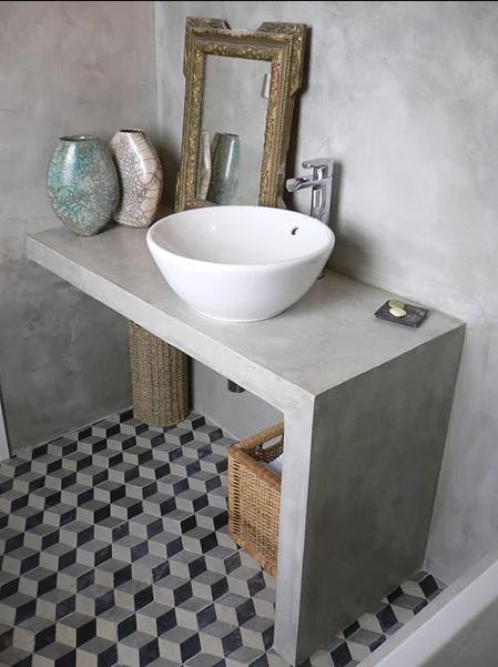 Banheiro Cimento Queimado: Projetos Incríveis para se inspirar